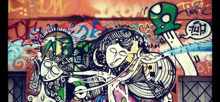 Street Art στους δρόμους της Αθήνας