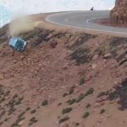Απίστευτο ατύχημα στο θρυλικό Pikes Peak.