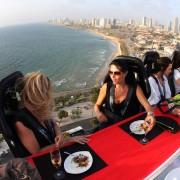 Dinner in the sky το 'ιπτάμενο' εστιατόριο έρχεται στην Αθήνα