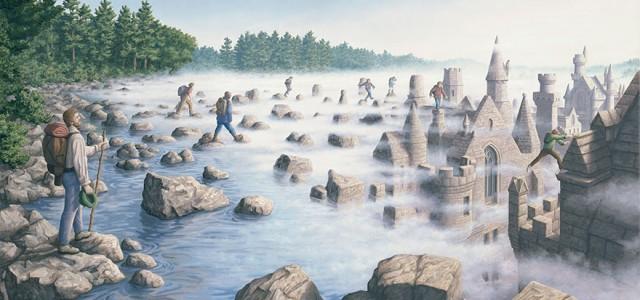 25 έργα ζωγραφικής – οφθαλμαπάτης από τον Rob Gonsalves.