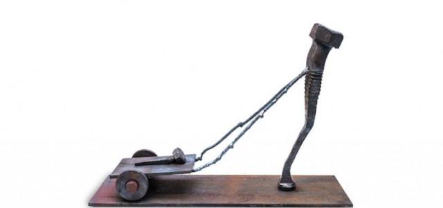 Παλιές βίδες μετατρέπονται σε ανθρώπινες… φιγούρες.