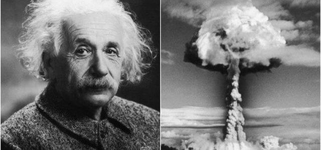 Αϊνστάιν και ατομική βόμβα