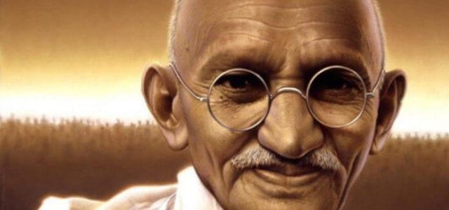 Οι αγώνες των Ινδών για ανεξαρτησία και ο Γκάντι
