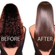 Θεραπεία μαλλιών με κερατίνη ή Βραζιλίανικο ίσιωμα