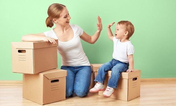 Παιδιά και μετακόμιση