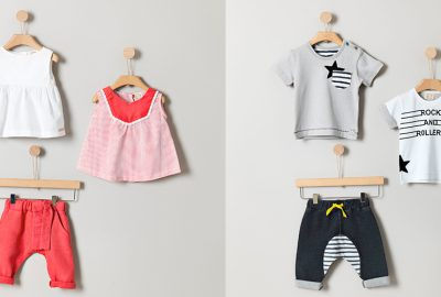 Αγοράζοντας παιδικά ρούχα