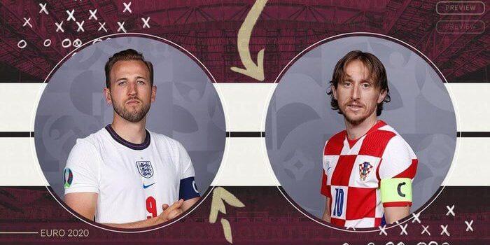 Προεπισκόπηση Αγγλία vs Κροατία Euro 2020