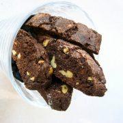 Εύκολη συνταγή για Biscotti σοκολάτας