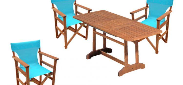 Πως να προμηθευτείτε σεζλόνγκ, καρέκλες σκηνοθετικές και τραπεζάκια παραλίας